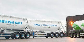 bulk powder tanker