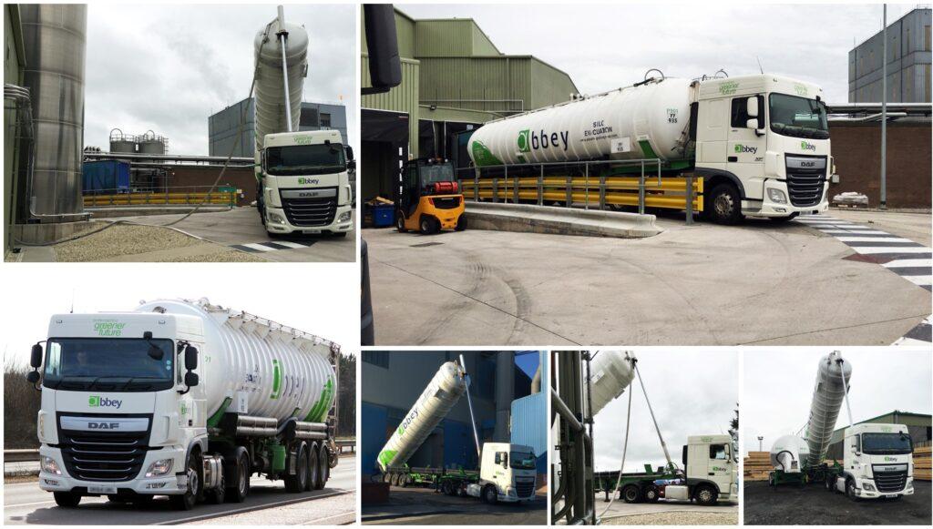 silo evacuation tanker
